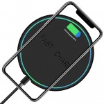 Wireless Charging Pad With USB Cable For Qi Enabled Wireless Charging Devices