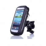 Universal Bike Bicycle Phone Holder Base Waterproof Case Cover Bag Handlebar Cycling Mount
