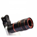 Mobile Camera 8X Zoom Wide Angle HD Telescope Lens Mobile Camera, DSLR