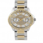 Guess Ladies Steel Gold Plated Watch