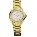 Guess Ladies Golden Watch