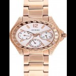 Guess Ladies Full Rose Gold Watch