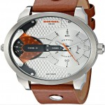 Diesel Men's Leather Wrist Watch