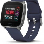 Timex I Connect Smart Watch Blue Silicon Strap