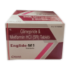 Tablet Glimepiride 1 Mg + Metformin 1gm
